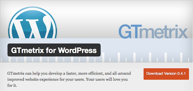 gtmetrix-plugin